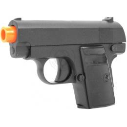 Galaxy Full Metal Compact .25 Pistol Airsoft Gun - Functional Slide
