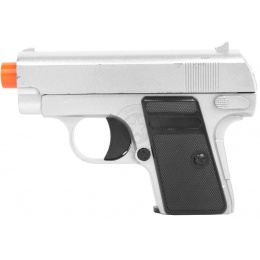 Galaxy Airsoft Metal Compact .25 Spring Pistol w/ Functional Slide