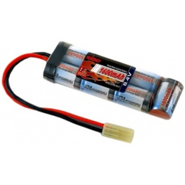Airsoft TENERGY Premium 8.4V NiMH Mini Battery for AEG - 1600 mAh