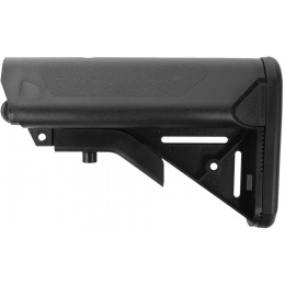 SRC Stryke Series M4 Airsoft AEG Retractable Crane Stock - BLACK