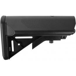 SRC Stryke Series M4 Airsoft AEG Retractable Crane Stock - BLACK