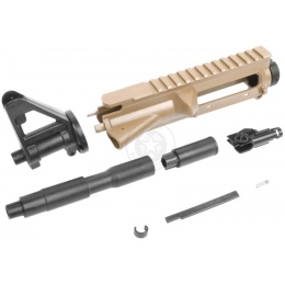 SRC Stryke Series M4 AEG ABS Airsoft Upper Receiver & Barrel Kit - TAN