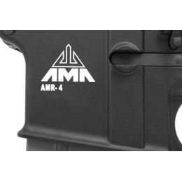 Airsoft Megastore Armory Full Metal AMR-4 A1 EBB AEG w/ MOSFET - BLACK