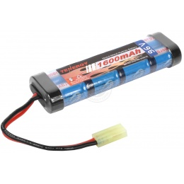 Airsoft TENERGY Premium 9.6V NiMH Mini Type Battery for AEG - 1600 mAh