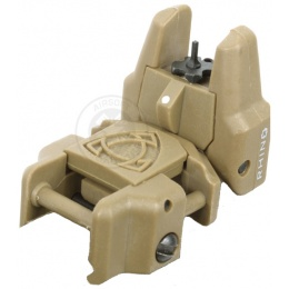 APS Rhino Flip-Up Sight Front - Dark Earth