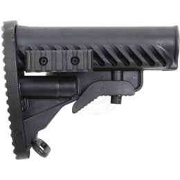 APS Modular Retractable Rear LE Stock for M4/ M16 AEG Rifles - BLACK