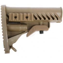 APS Modular Retractable LE Stock for M4/ M16 AEG Rifles - DARK EARTH
