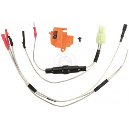 APS Rear Wired Version 2 Gearbox Airsoft AEG Wiring Harness