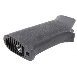 Ergonomic APS Airsoft M4/ M16 AEG Textured Polymer Motor Grip - BLACK