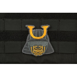 AMS Ronin Samurai Patch - BLACK & Gold - Premium Hi-Fidelity Series