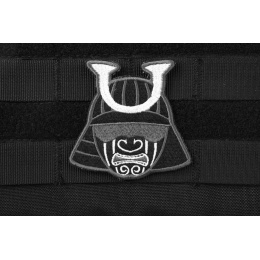 AMS Ronin Samurai Patch - BLACK/ SWAT - Premium Hi-Fidelity Series