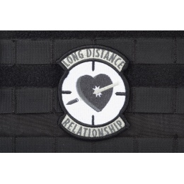 AMS Long Distance Relationship Patch - BLACK/ SWAT