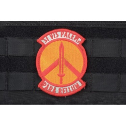 AMS Prepare for War Patch - RED/ GOLD - Premium Hi-Fidelity Series