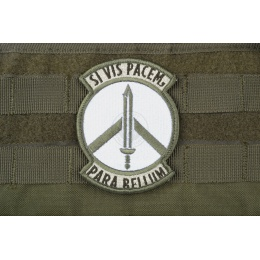 AMS Prepare for War Patch - OD GREEN - Premium Hi-Fidelity Series