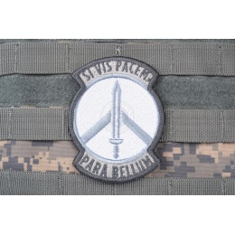 AMS Prepare for War Patch - GRAY/ ACU - Premium Hi-Fidelity Series
