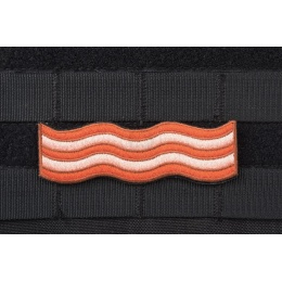 AMS Tactical Bacon Patch - Full Color - Premium Hi-Fidelity Series