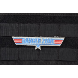 AMS Danger Zone Patch - Full Color - Premium Hi-Fidelity Series