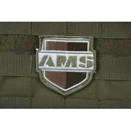 AMS SHIELD Patch - OD Green - Premium Hi-Fidelity Patch Series