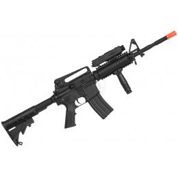 440 FPS AGM Full Metal M4A1 RIS Airsoft AEG Rifle w/ Metal Gearbox
