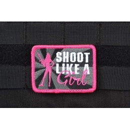 AMS Shoot Like A Girl Patch - Full Color - Hi-Fidelity Patch Series