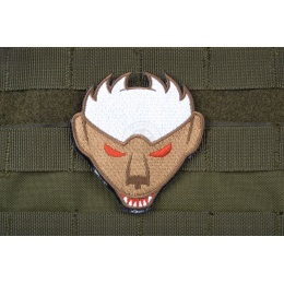 AMS Honey Badger Patch - OD/ TAN - Premium Hi-Fidelity Patch Series