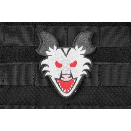 AMS Angry Possum Patch: Hi-Fidelity Patch Series - BLACK/ GRAY