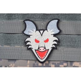 AMS Angry Possum Patch: Hi-Fidelity Patch Series - GRAY/ WHITE