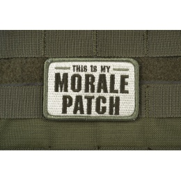 AMS Tactical Morale Patch: Hi-Fidelity Patch Series - OD GREEN
