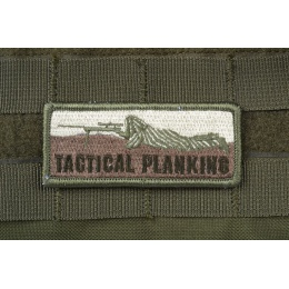 AMS Tactical PlankingPatch - OD GREEN - Hi-Fidelity Patch Series