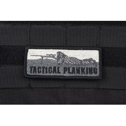 AMS Tactical Planking Patch - BLACK/ SWAT