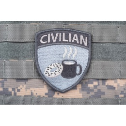 AMS CIVILIAN Patch - GRAY/ ACU - Premium Hi-Fidelity Patch Series