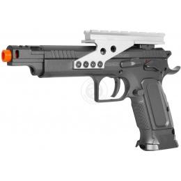 KWC Tanfoglio IPSC Full Metal Gold Custom CO2 Blowback Airsoft Pistol