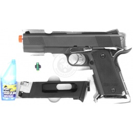 WG Airsoft High-Powered Sport 103 CO2 Non Blowback 1911 Pistol - BLACK