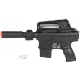 DE M304 Tactical M4 SD Airsoft Spring Pistol - w/ Accessory Rails