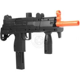 Double Eagle M35 Tactical Uzi Airsoft SMG Spring Powered Pistol