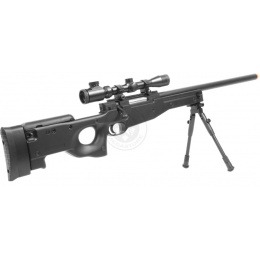 400 FPS DE MK96 Airsoft Spring Sniper Rifle w/ Scope & Bipod