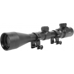 AMA Adjustable 3-9x40E Illuminated Rifle Scope
