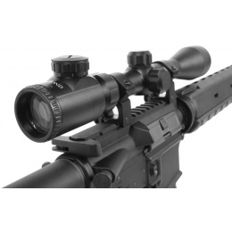 AMA Adjustable 3-9x40E Illuminated Rifle Scope