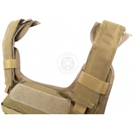 Flyye Industries 1000D MOLLE Assault Plate Carrier - COYOTE BROWN