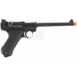 WE Tech Full Metal Airsoft Luger P08 Pistol WWII - MEDIUM Model