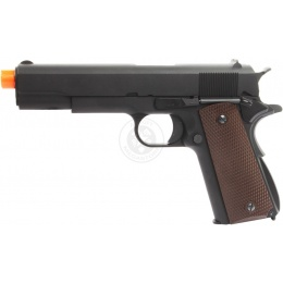 WE Tech Full Metal M1911A1 WWII Semi Automatic Gas Blowback Pistol