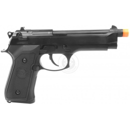 WE Tech Full Metal M9 Semi Automatic Gas Blowback Pistol - BLACK