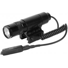 AIM Sports 90 Lumen Pressure Pad Flashlight w/ Quick-Release Mount