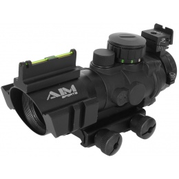 AIM Sports 4x32 Fiber Optic Red/Green Dot w/ Fiber Optic Sighting