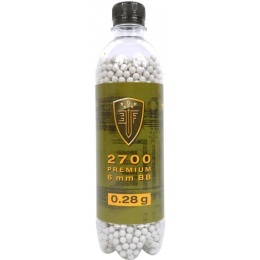 0.28G Elite Force Precision 6mm Seamless BBs - 2700rd Bottle
