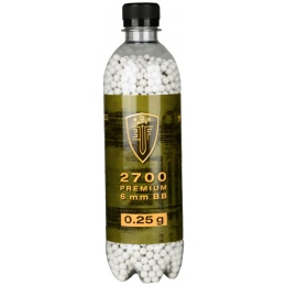 0.25G Elite Force Precision 6mm Seamless BBs - 2700rd Bottle