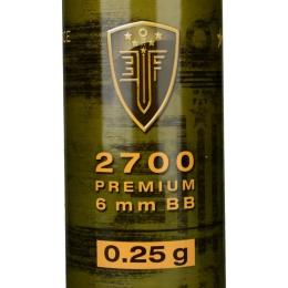 0.25G Elite Force Precision 6mm Seamless BBs - 2700rd Bottle