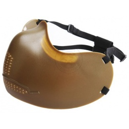 Iron Face Protection Mask - Lower Face / Mouth Protection - OLIVE DRAB