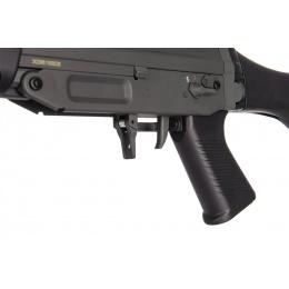JG SIG 550 Full Metal Gearbox Airsoft AEG Rifle w/ Bipod - BLACK