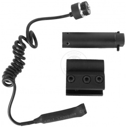 AIM Sports Rail-Mounted Red Laser Sight w/ Pressure Switch